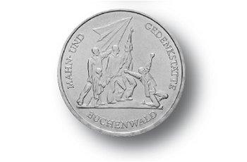 10-Mark-Münze 1972, Nationale Mahn-und Gedenkstätte Buchenwald, DDR