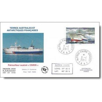Schiffe – Ersttagsbrief, Katalog-Nr. 746, TAAF