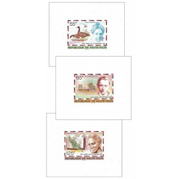 Nobelpreisträger - 5 Luxusblocks postfrisch, Katalog-Nr. 684-688, Obervolta
