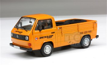 Modellauto:VW T3a Pritschenwagen - Dunlop -(Premium ClassiXXs, 1:43)