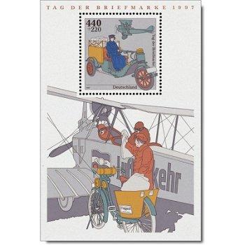 Tag der Briefmarke 1997, Block 41 postfrisch, Katalog-Nr. 1947, Bundesrepublik