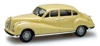 Modellauto:BMW 502 - Barockengel - , beige(Herpa, 1:87)