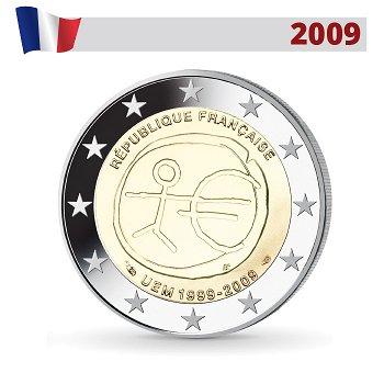 Wirtschafts- und Währungsunion, 2 Euro Münze 2009, Frankreich