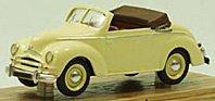 """Modellauto:Ford Taunus """"Deutsch"""" Cabriolet von 1951, creme(Tin Wizard, 1:43)"""