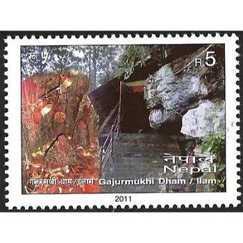 Tourismus – Briefmarke postfrisch, Nepal
