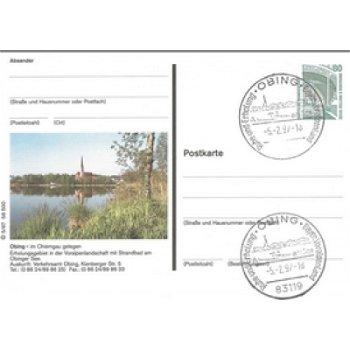 8201 Obing - picture postcard