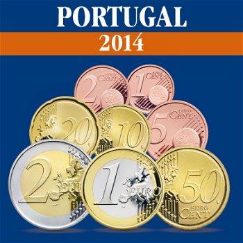 Portugal - Kursmünzensatz 2014