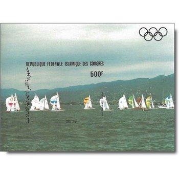Olympische Sommerspiele 1984, Los Angeles – Briefmarken-Block postfrisch, ungezähnt, Katalog-Nr. 690