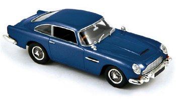 Modellauto:Aston Martin DB5 Coupé von 1964, blau(Norev, 1:43)