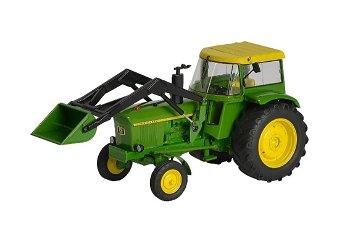 Modell-Traktor:John Deere 3120 mit Frontlader(Schuco, 1:32)