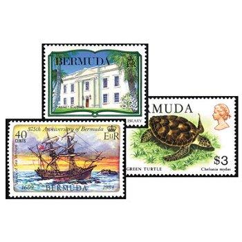 Bermuda - Ländersammlung postfrisch, Anfangslieferung
