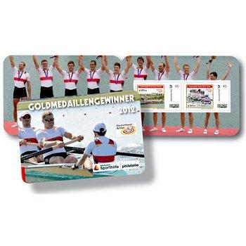 Rudern - Sporthilfe-Markenheftchen, postfrisch