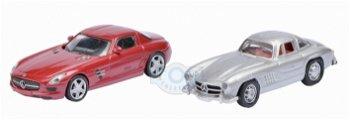 Magnet-Set:Mercedes-Benz SLS AMG & Mercedes-Benz 300 SL(Schuco, 1:87)