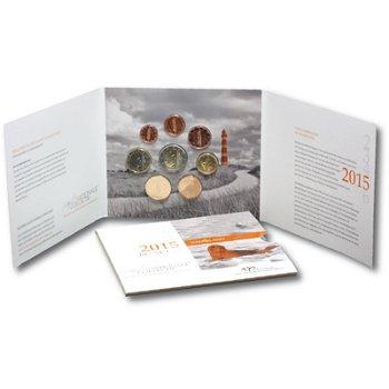 Kursmünzensatz 2015, Wattenmeer - Niederlande