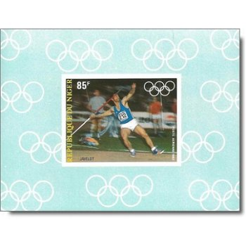 Olympische Sommerspiele 1984 - 4 Luxusblocks postfrisch, Katalog-Nr. 846-849, Niger