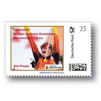 Winterspiele 2014, Eric Frenzel, Nordische Kombination - Marke Individuell postfrisch, Deutschland