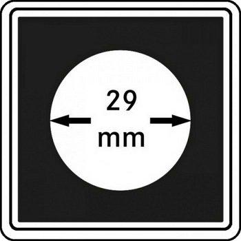 Münzkapseln CARRÉE 29 mm, 4er Pack, LI 2240029