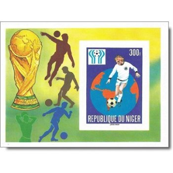 Fußball-Weltmeisterschaft 1978, Argentinien - Briefmarken-Block ungezähnt postfrisch, Katalog-Nr. 62