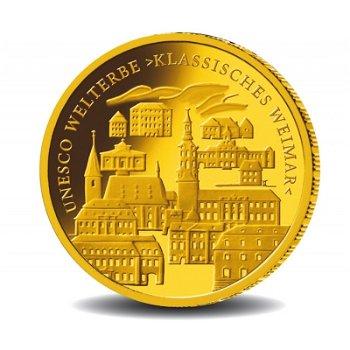 Klassisches Weimar, 100 Euro Goldmünze 2006, Deutschland