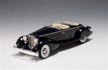 Modellauto:Packard Twelve 1108 Sport Phaeton, dunkelblau(GLM, 1:43)