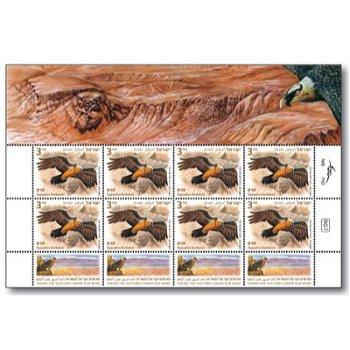 Bartgeier - Briefmarken-Kleinbogen postfrisch, Israel