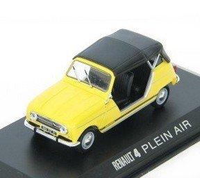 Modellauto:Renault 4L Plein Air von 1962, gelb(Norev, 1:43)