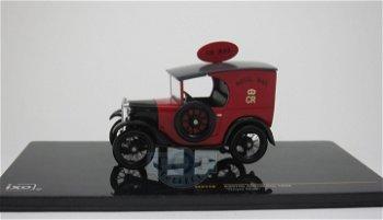 Modellauto:Austin Seven Van - Royal Mail - von 1928, rot(IXO Models, 1:43)