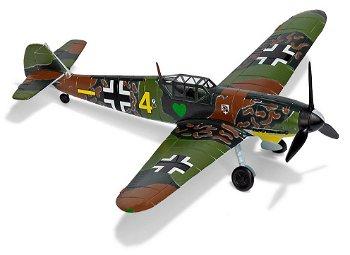 Modell-Flugzeug:Messerschmitt BF 109 G2- Hans Beißwenger -(Bush, 1:87)