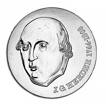 175. Todestag Johann Gottfried Herder, 20 Mark Münze 1978, DDR
