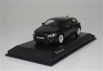 Modellauto:VW Scirocco III von 2009, schwarz(Norev, 1:43)