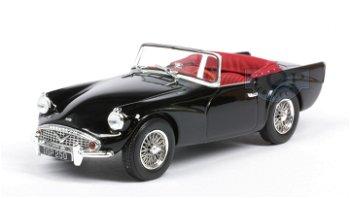 Modellauto:Daimler SP 250 Cabriolet von 1962, schwarz(Norev, 1:43)