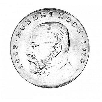 "5-Mark-Münze 1968 ""125. Geburtstag Robert Koch"", DDR"