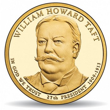 William Howard Taft, Präsidentendollar 2013, USA