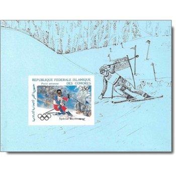 Olympische Winterspiele 1988 - 4 Luxusblocks postfrisch, Katalog-Nr. 799-802, Komoren