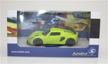 Modellauto:Lotus Exige S2, gelb(Solido, 1:43)