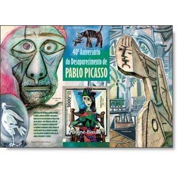 Pablo Picasso - Briefmarken-Block postfrisch, Katalog-Nr. 6765, Guinea-Bissau