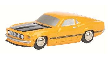 Modellauto:Ford Mustang Mach 1, orange(Schuco, 1:90)