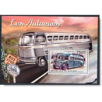 Busse - Briefmarken-Block postfrisch, Burundi