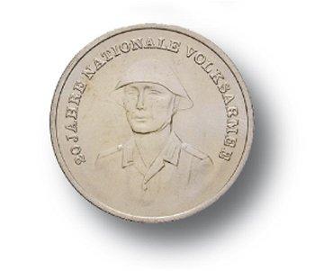 10-Mark-Münze 1976, 20 Jahre Nationale Volksarmee, DDR