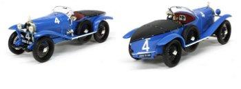 Modellauto:Lorraine-Dietrich B3-6 mit # 4, blau(IXO Models, 1:43)