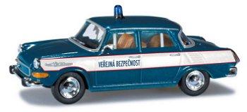 Modellauto:Skoda 1000 MB - Polizei -(Herpa, 1:87)