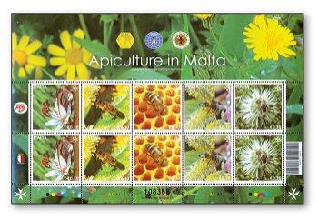 Fleißige Bienchen - Kleinbogen postfrisch, Malta