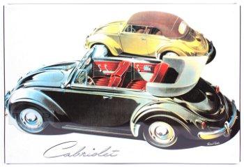 Blechschild:2 VW Cabriolets(30 x 20 cm)