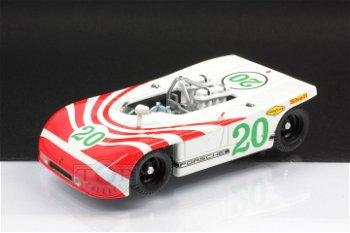 Modellauto: Porsche 908/3 mit # 20, weiß-rot(Best, 1:43)