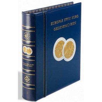 Vordruckalbum Optima, Band 1, für 2-Euro-Münzen von 2004 - 2013, inkl. Schutzkassette, Leuchtturm 34