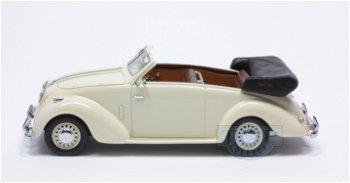 Modellauto:Adler 2.5 L Cabriolet, creme(NEO, 1:43)