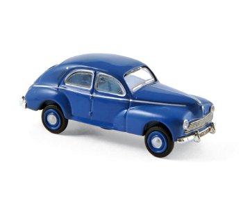 Modellauto:Peugeot 203 von 1954, blau(Norev, 1:87)