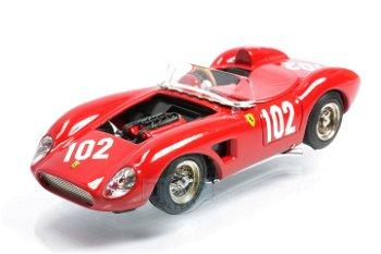 Modellauto:Ferrari 500 TRC # 102, rot(Art Model, 1:43)