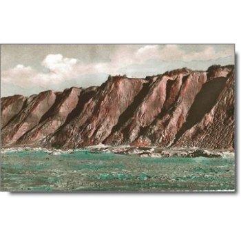 "2284 Hörnum - Postkarte ""Das Rote Kliff"""