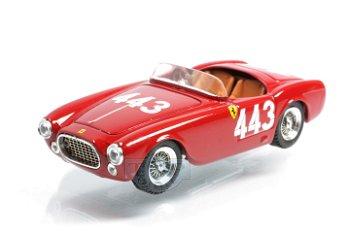 Modellauto:Ferrari 225 S mit # 443, rot(Art Model, 1:43)